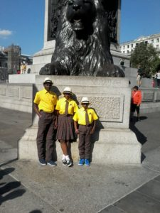 Fit Charis Students visiting places of interest in London